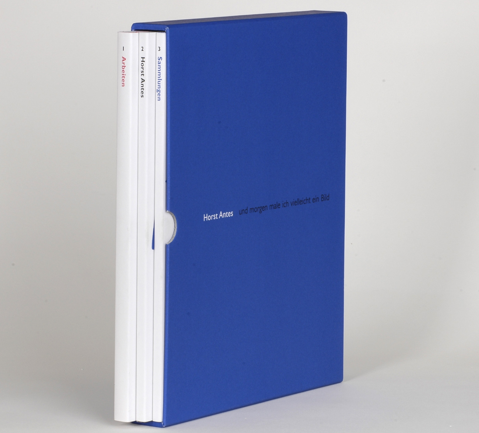 Horst Antes - Arbeiten, Sammlung, Texte