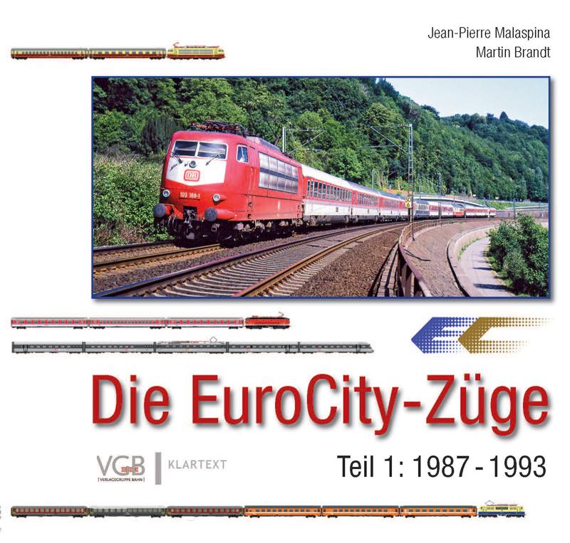 Die EuroCity-Züge - Teil 1: 1987-1993