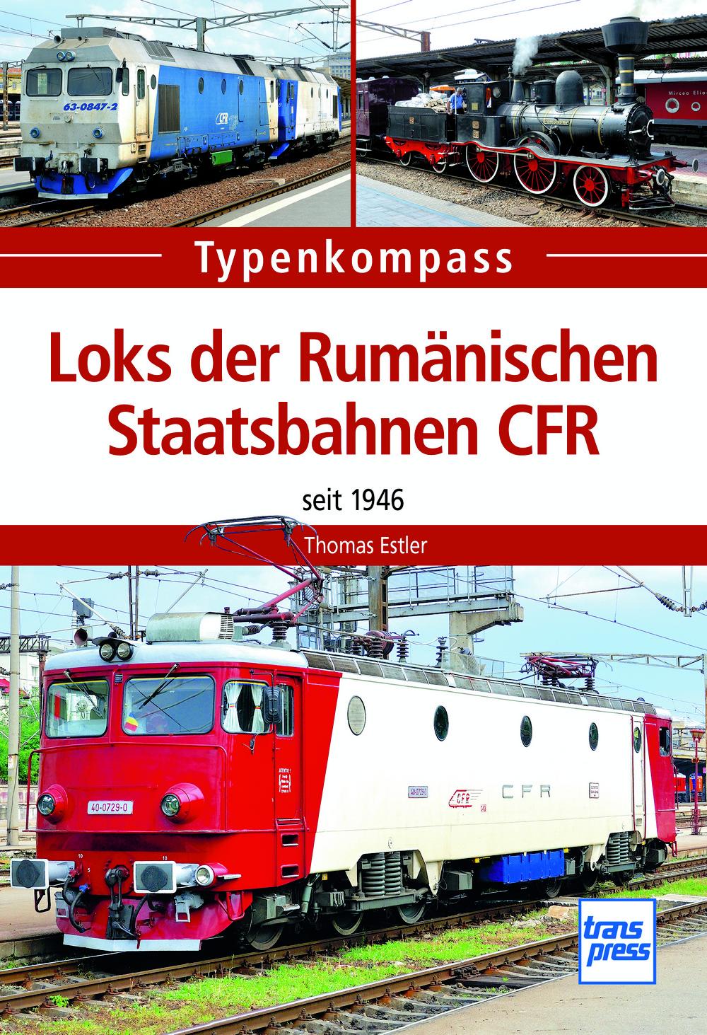 Loks der Rumänischen Staatsbahnen CFR