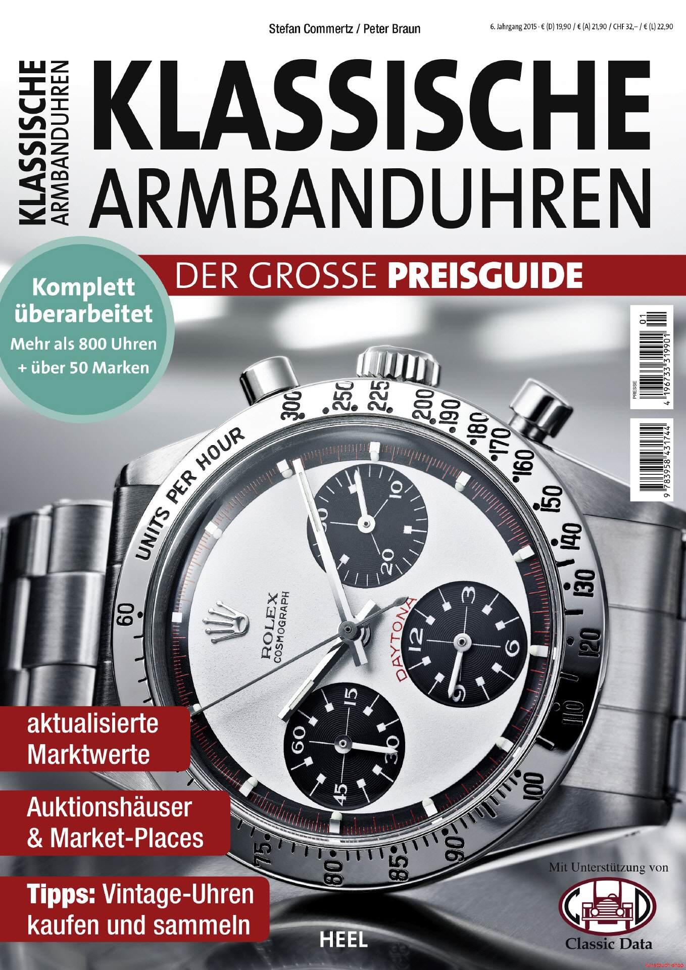 Klassische Armbanduhren 2015